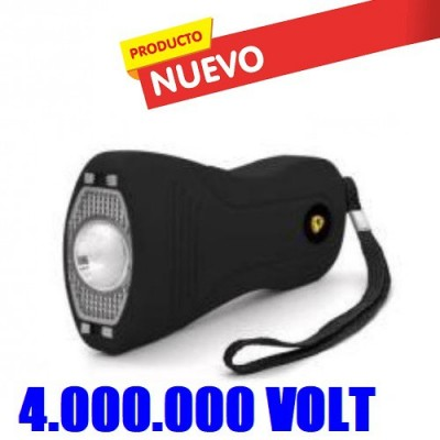 DEFENSA ELECTRICAS MODELO 4001 CON 4 MILLONES DE VOLTIOS DISEÑO SUPER ERGONOMICO