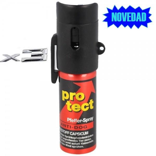 Spray de pimienta ProTect Anti-Dog - Cono - 15ml