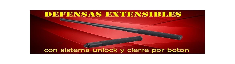 Defensas Extensibles | Compra Material de Defensa al mejor precio
